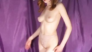 Petite Dasha with cute bows and poses nicely solo xxx video