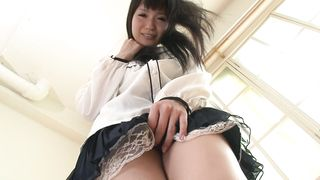 Nasty diva Tsukushi is riding fellow's ramrod like a pro whore and enjoying it