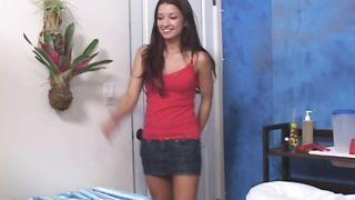 Sexy Annmarie Rios receives a love rocket in her wet putz