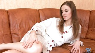 Lusty brown-haired Emanuelle receives a giant python in her tight cunny