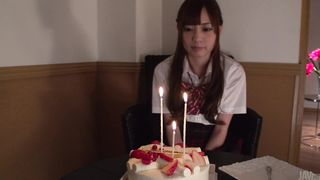 Playful Yuria Mano is having wild sex with buddy in the midst of the day