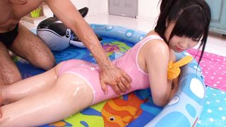 Phallus loving kinky kitty Ichigo Tominaga gave a blowjob to hunk previous to he fucked her brains out