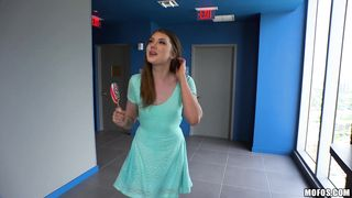 Marvelous maiden Elena Koshka is about to experience an intense large o