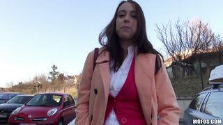 Beguiling girl Christine Heidy blows attractive boyfrend