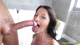 Frisky Mallory Madison wants to be drilled like a dirty slut