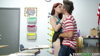 Insatiable teen Jessica Ryan with huge natural tits has her juce honey pot thoroughly banged