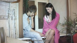 Engaging Mya Dark loves fucking hard and rough with her master