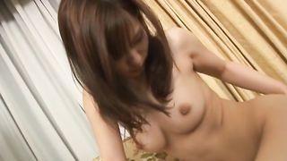 Sexual busty Nao Ayukawa gets roughly spooned