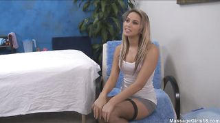 Pretty young chick Aleska Diamond and fuckmate are doing it all day long and enjoying it a lot