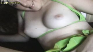 Sexual barely legal Emily looks even better while being drilled